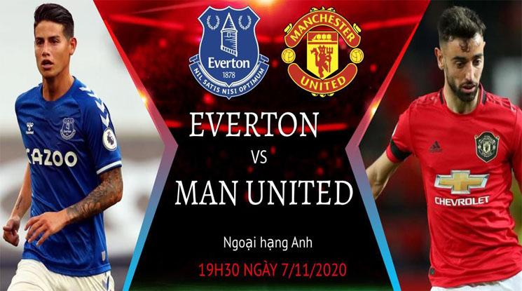 Nhận định Soi Kèo Everton vs MU, 19h30 ngày 07/11, Ngoại hạng Anh